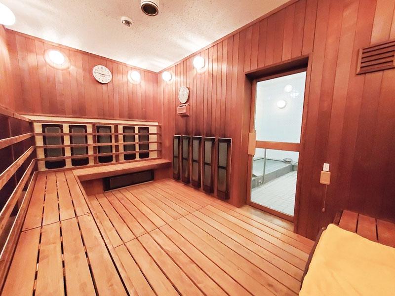 スポーツサウナ室