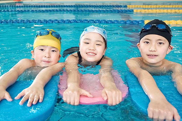 子どもの水泳教室